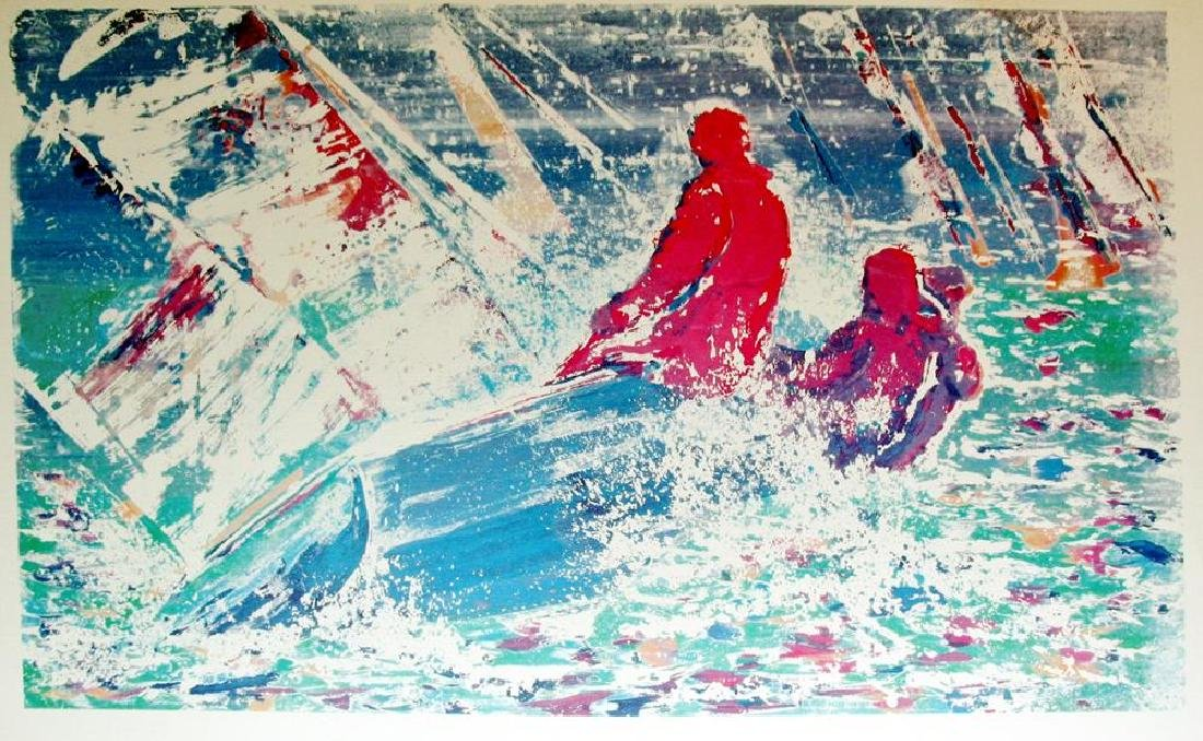 Dan Young 1988 Abstract Sailing