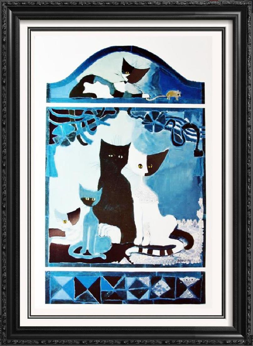 Rosina Wachtmeister Cats Kittens Modern Abstract Art