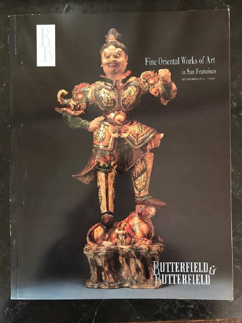"Butterfield & Butterfield ""Fine Oriental Works Of Art"""