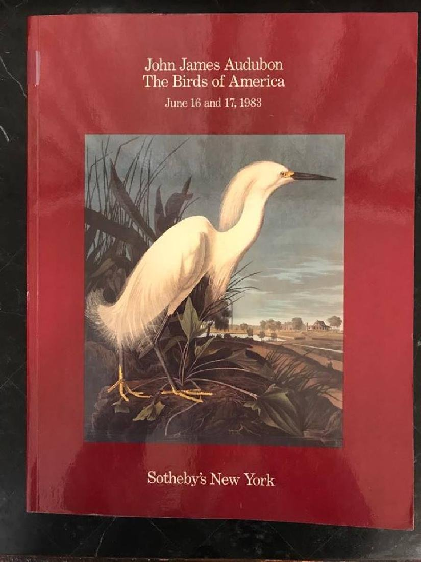 "Sotheby's ""John James Audubon The Birds Of America"""