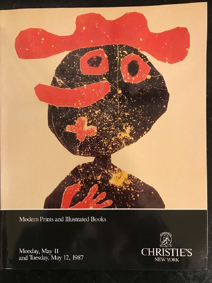 "Christie's ""Modern Prints & Illustrated Books"""