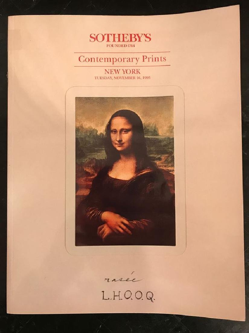 """Sotheby's """"Contemporary Prints"""""""