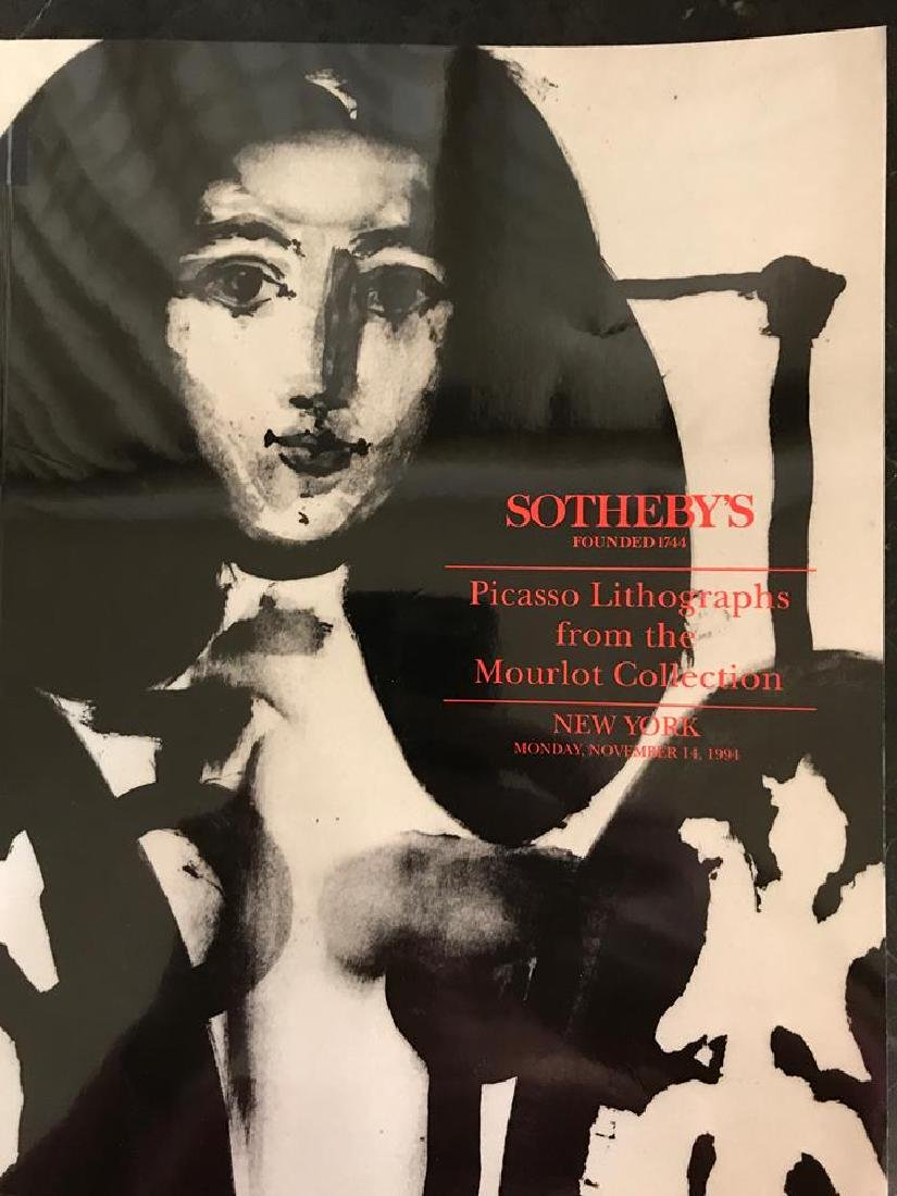 """Sotheby's """"Picasso Lithographs From The Mourlot"""