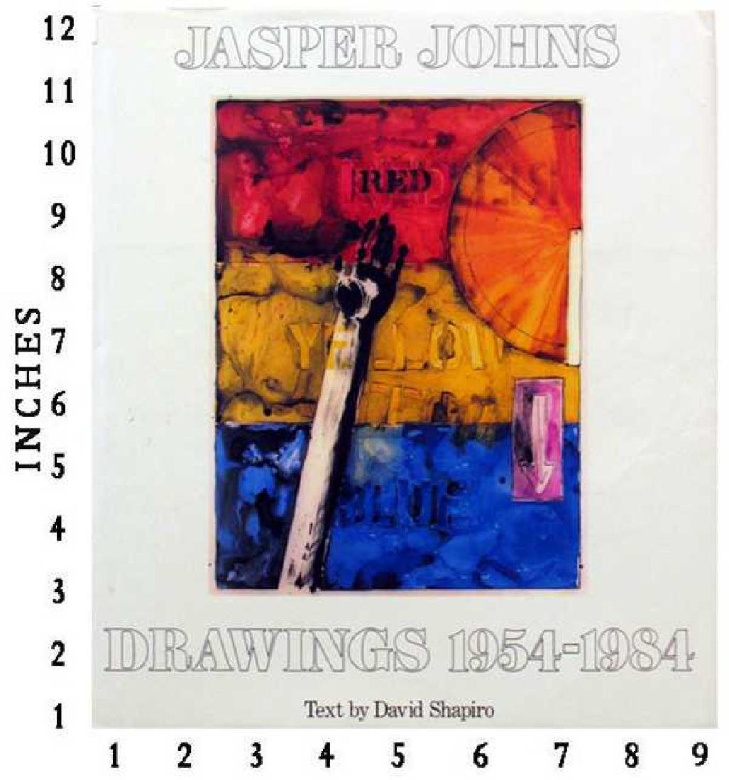 Museum Art Books Jasper Johns - Drawings 1954-1984 1984