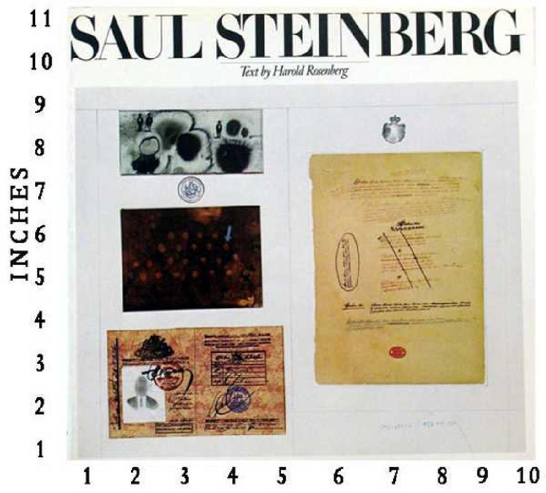 Art Book Liquidation Sale Saul Steinberg 1978 Whitney