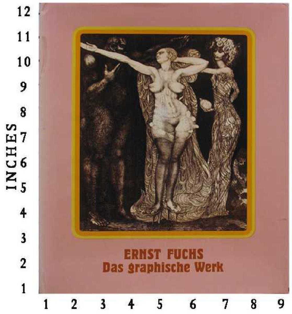 Art Book Liquidation Sale Ernst Fuchs Signed Art Book