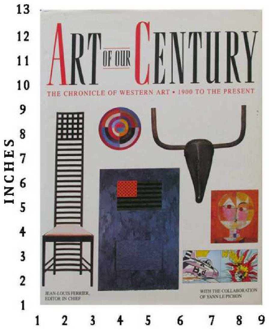 Museum Art Books Century Art Book 800 In Full Color