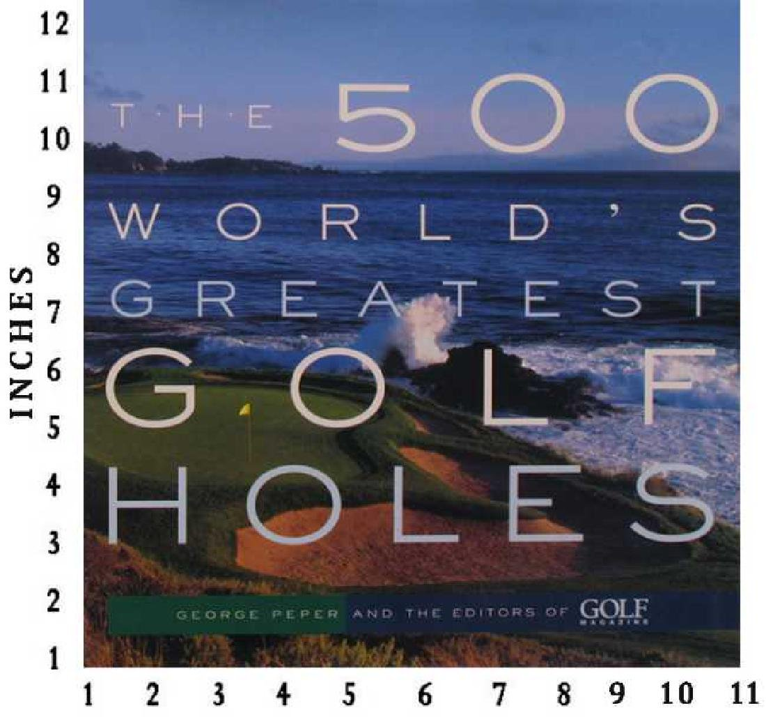 Art Book Liquidation Sale The 500 Worlds Great Golf