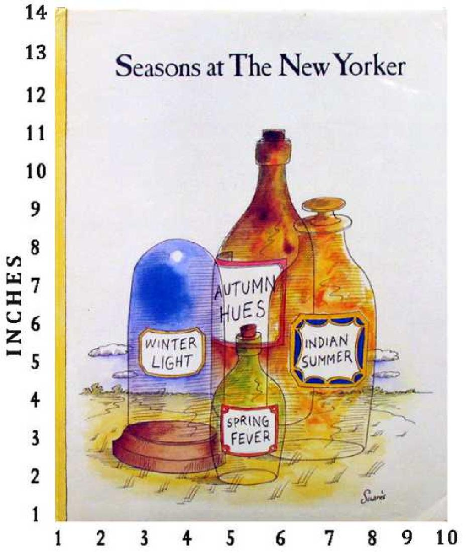 Art Book Liquidation Sale Seasons Of The New Yorker Six