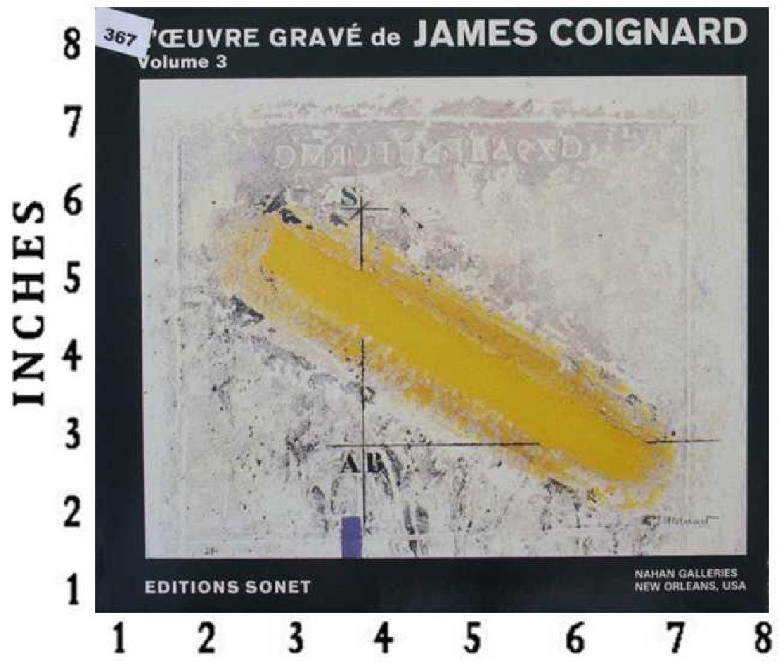 Museum Art Books James Coignard Catalogue Raisonne