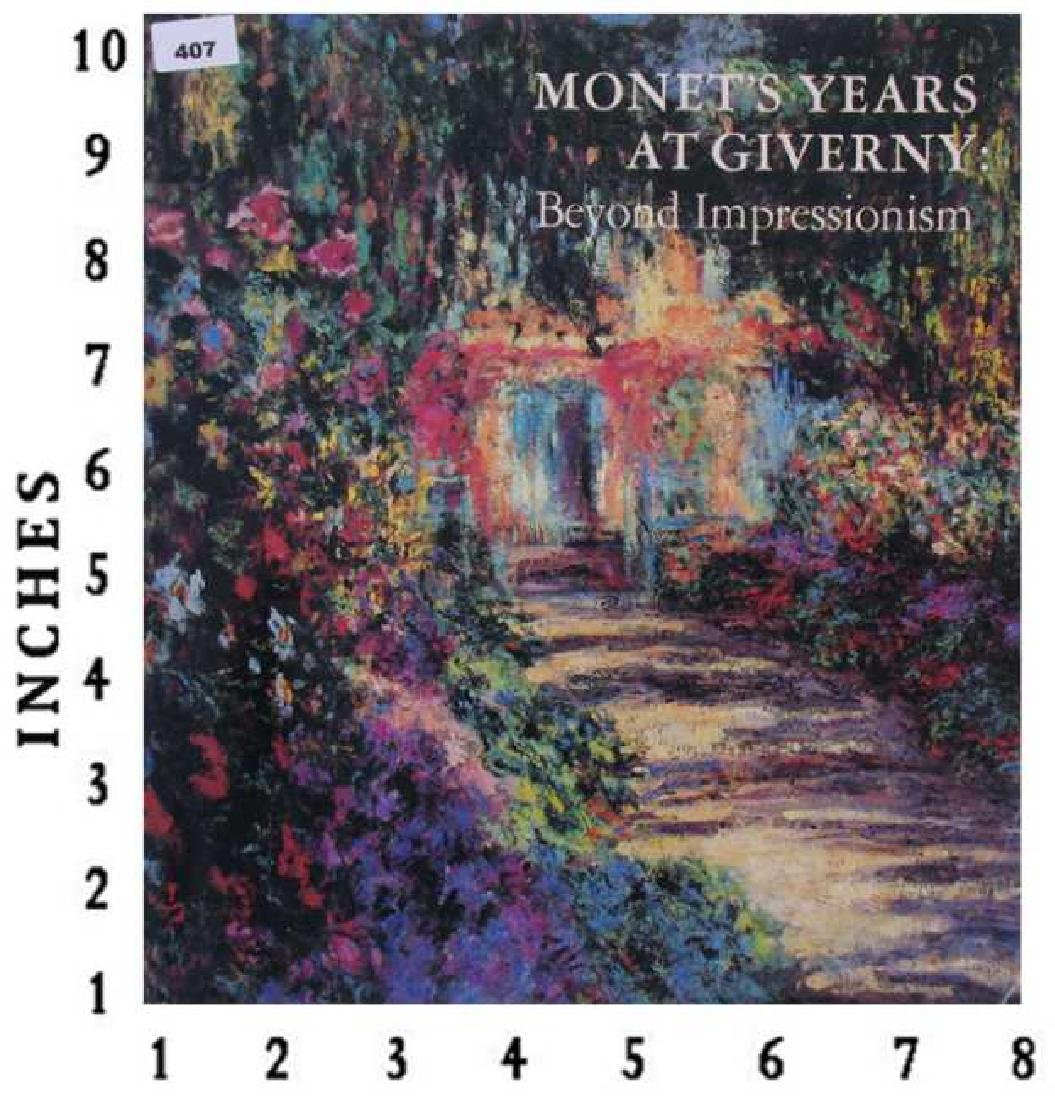 Museum Art Books Monets Years At Giver  Metropolitan