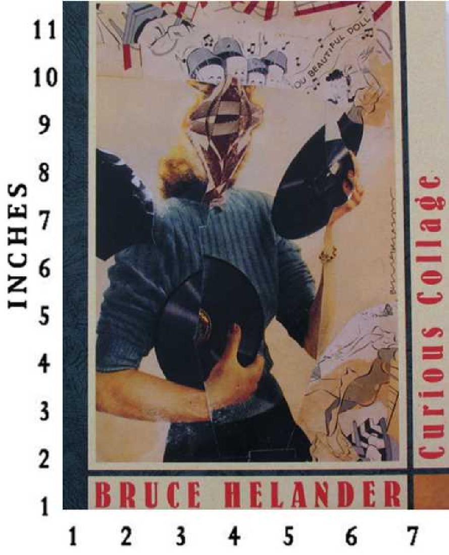 Art Book Liquidation Sale Bruce Helander Curios Collage
