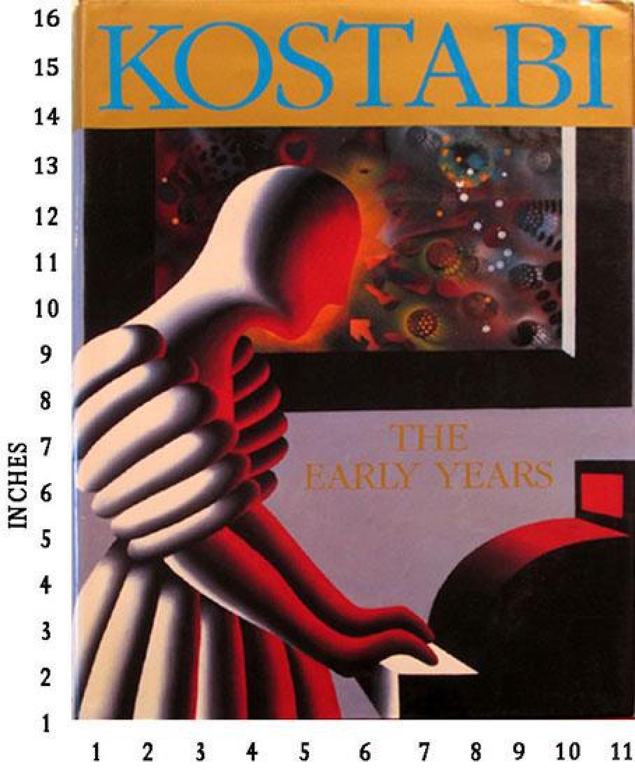 Dealer Liquidating Art Books Mark Kostabi - The Early