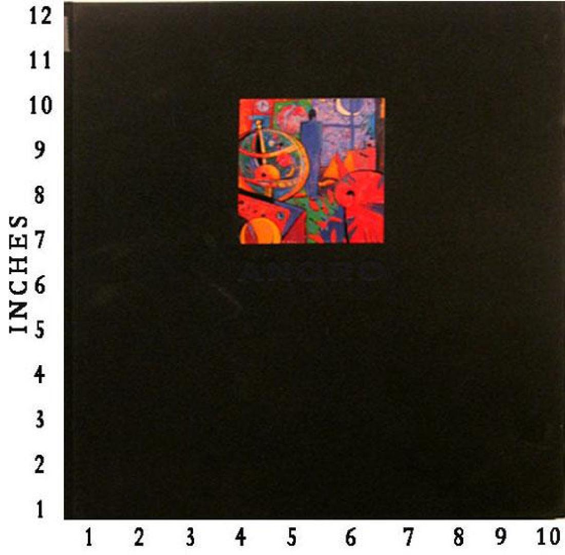 Art Book Liquidation Sale Manel Anoro 1991 Art Book