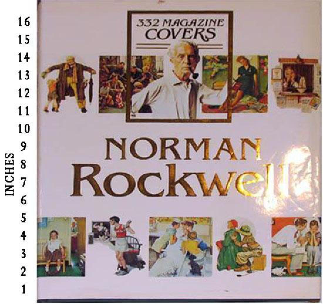 Museum Art Books Norman Rockwell 332 Magazine Covers