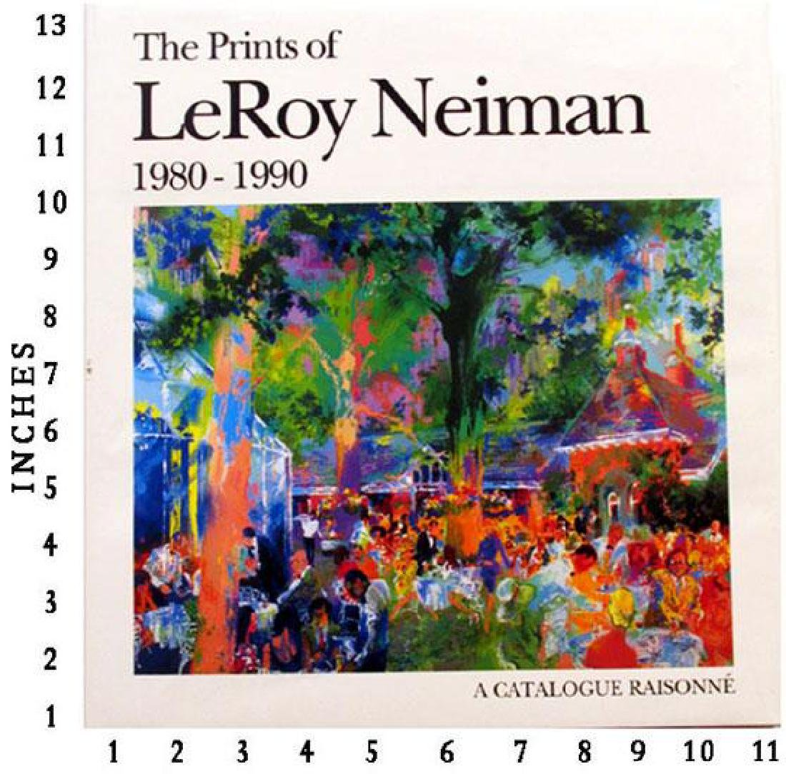 Art Book Liquidation Sale Leroy Neiman - The Prints Of