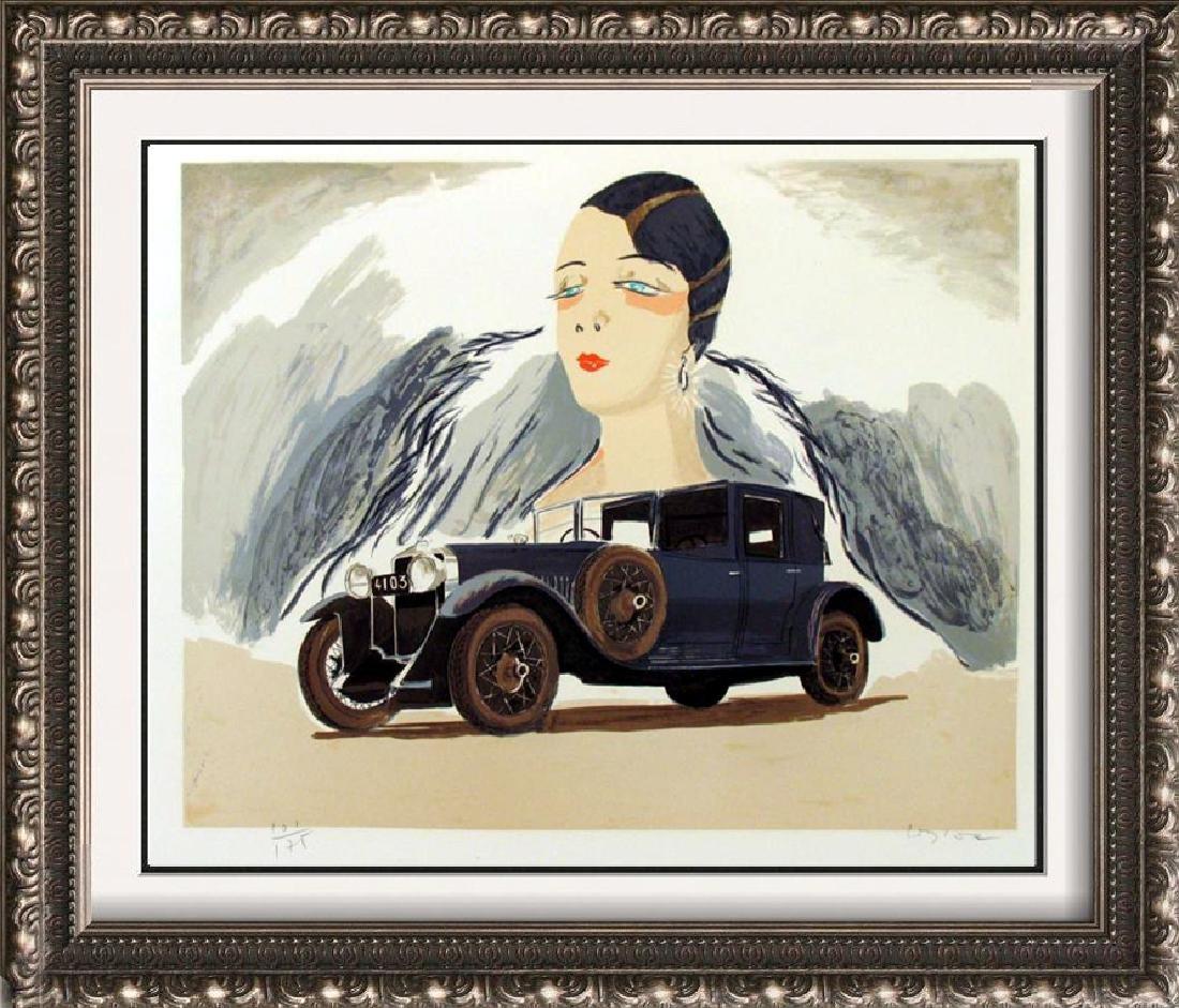 HISPANO SUIZA CAR SALE SIGNED LTD ED ART LIQUIDATION