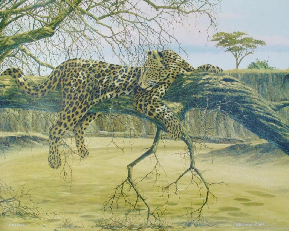 Leopards Canvas Limited Edition Signed Dealer Sale