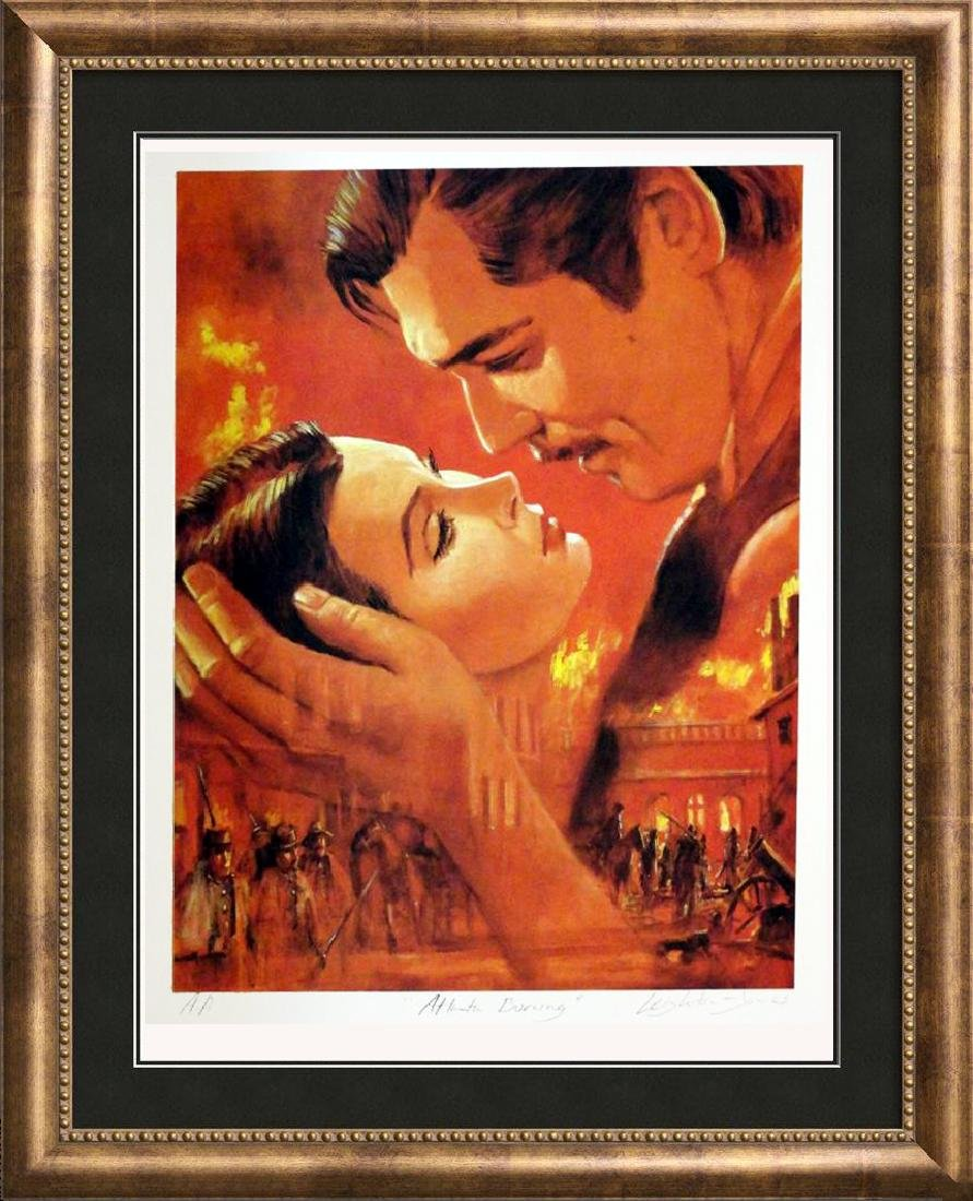 Gone With The Wind Limited Edition Classic Lithograph