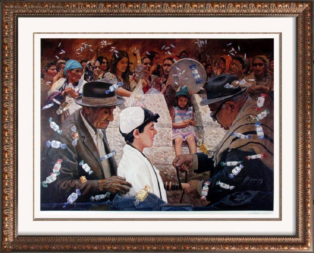 Bah Mitzvah Jewish Art Frank Hopper Rare Ltd Ed