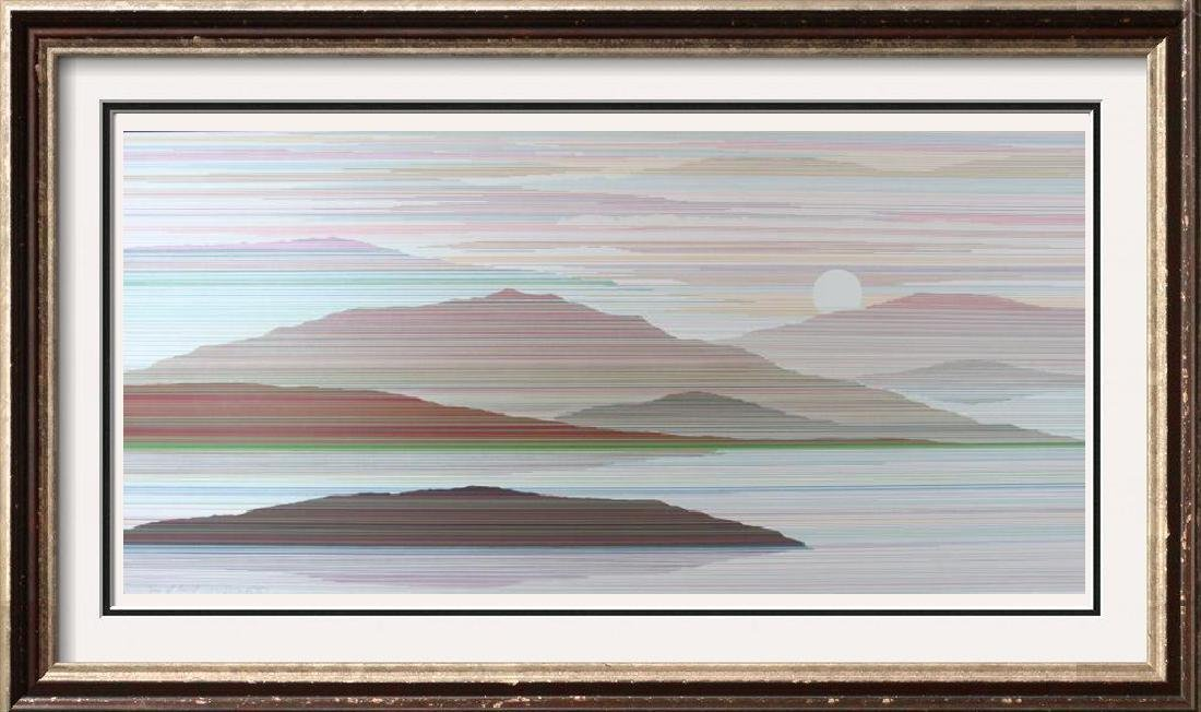 Mountain Modern Abstract Limited Edition Art Sale