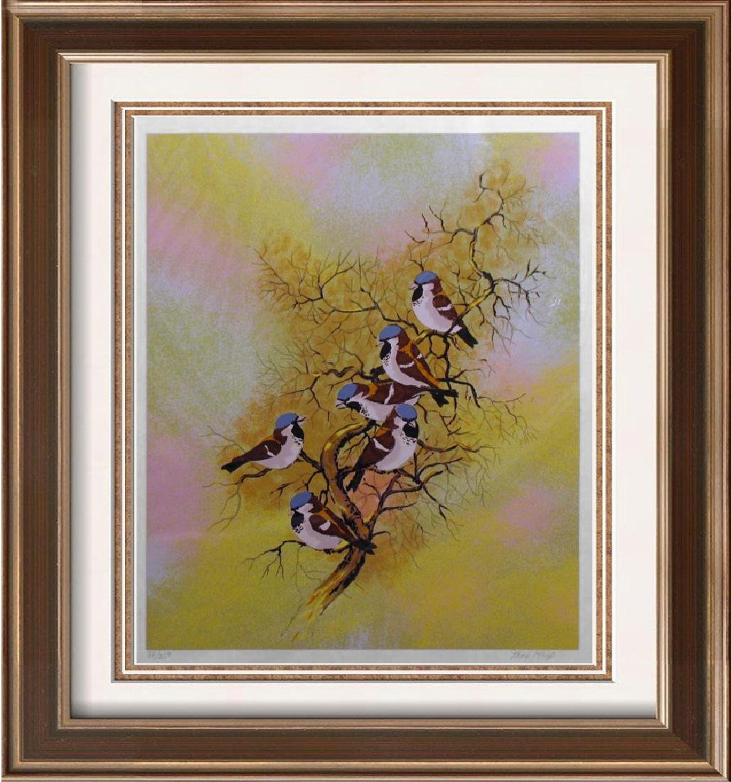 Max Karp Ltd Ed Serigraph Large Birds Only $75