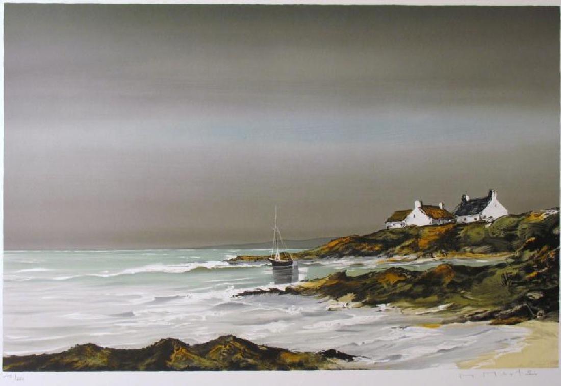 Landscape Ocean Scene Impressionism Huge Sale