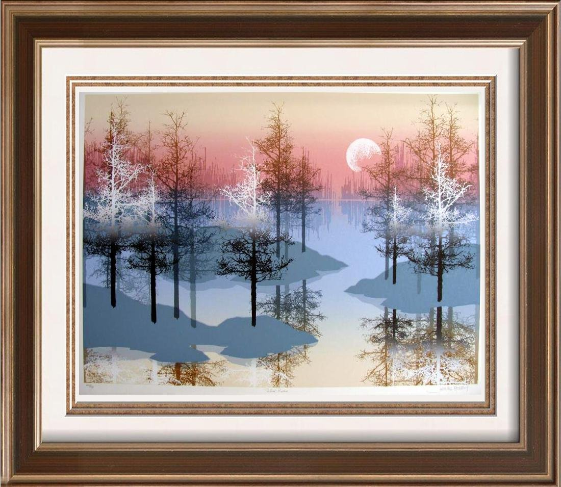 Blue River Mountain Scenic Abstract Ltd Ed Wholesale