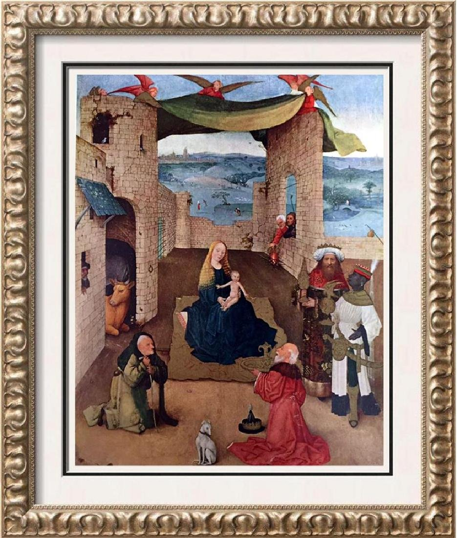 Hieronymus Bosch The Adoration of the Magi c.1450-1516