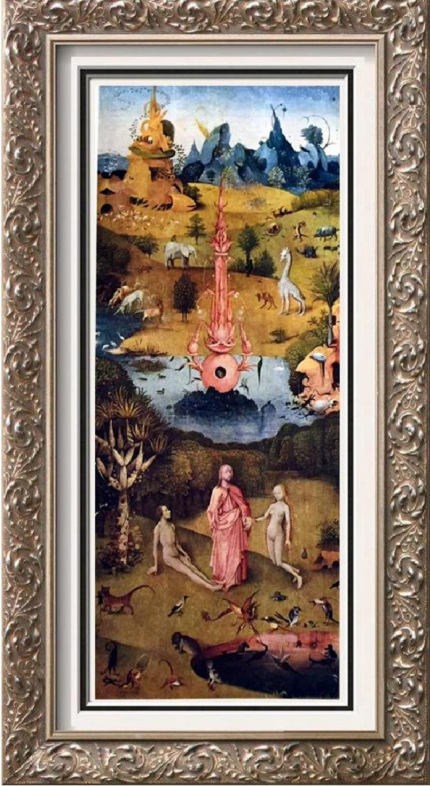Hieronymus Bosch The Garden of Worldly Delights (Left