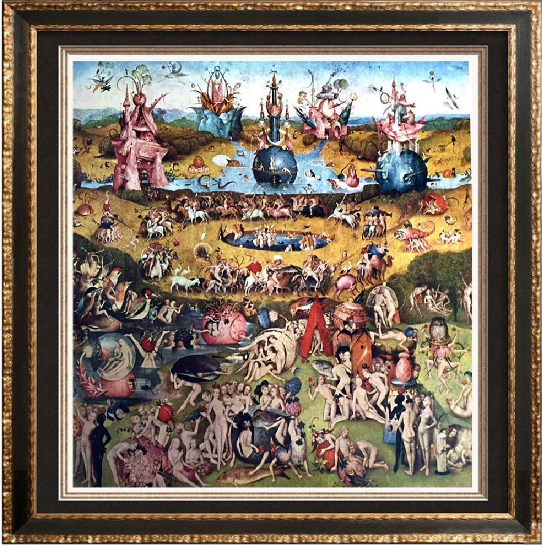 Hieronymus Bosch The Garden of Worldly Delights