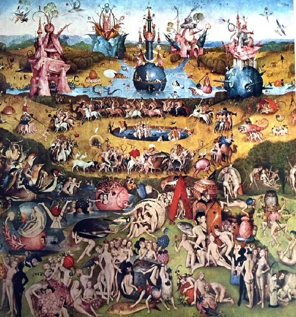 Hieronymus Bosch The Garden of Worldly Delights - 2