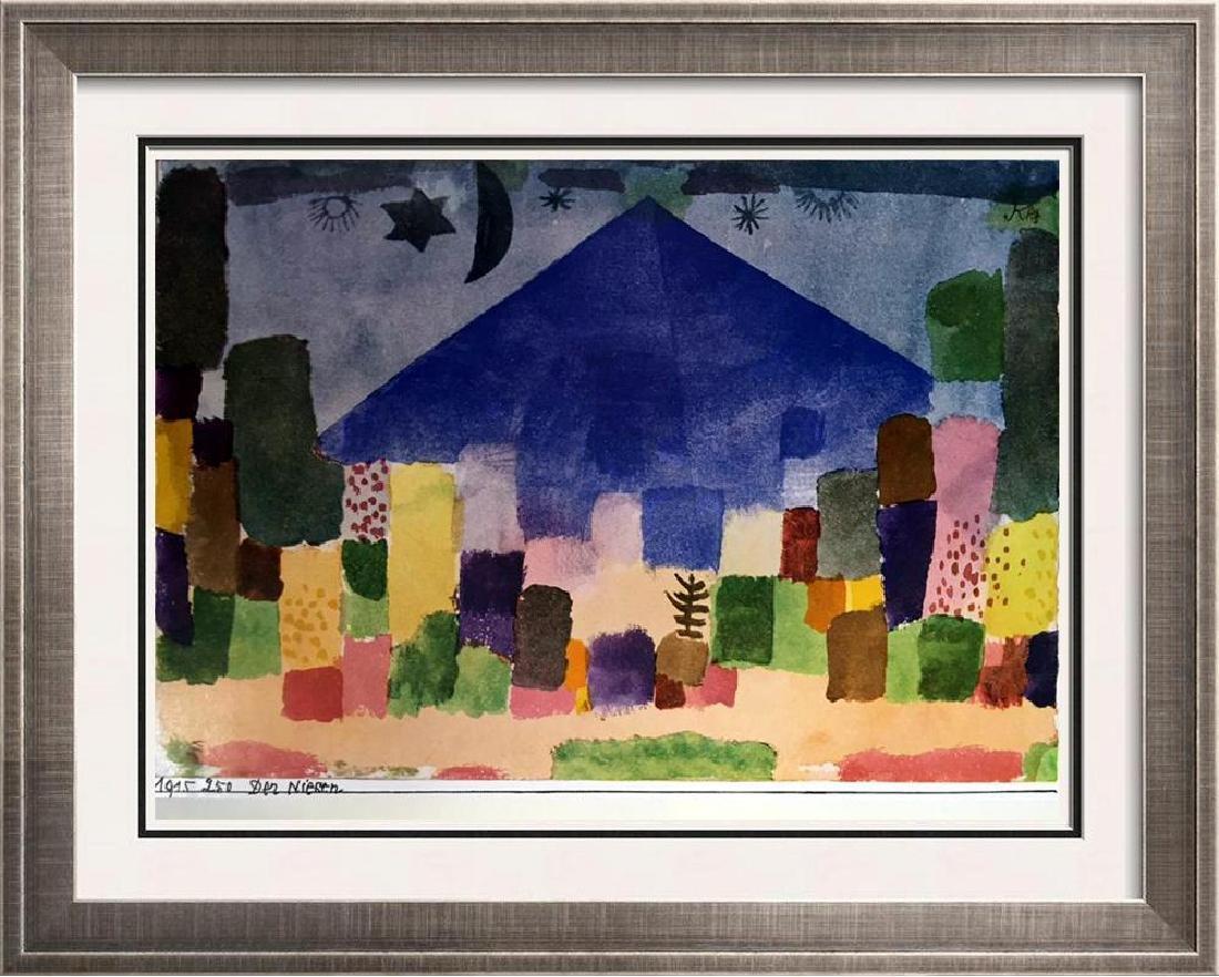 Paul Klee The Niesen c.1915 Fine Art Print