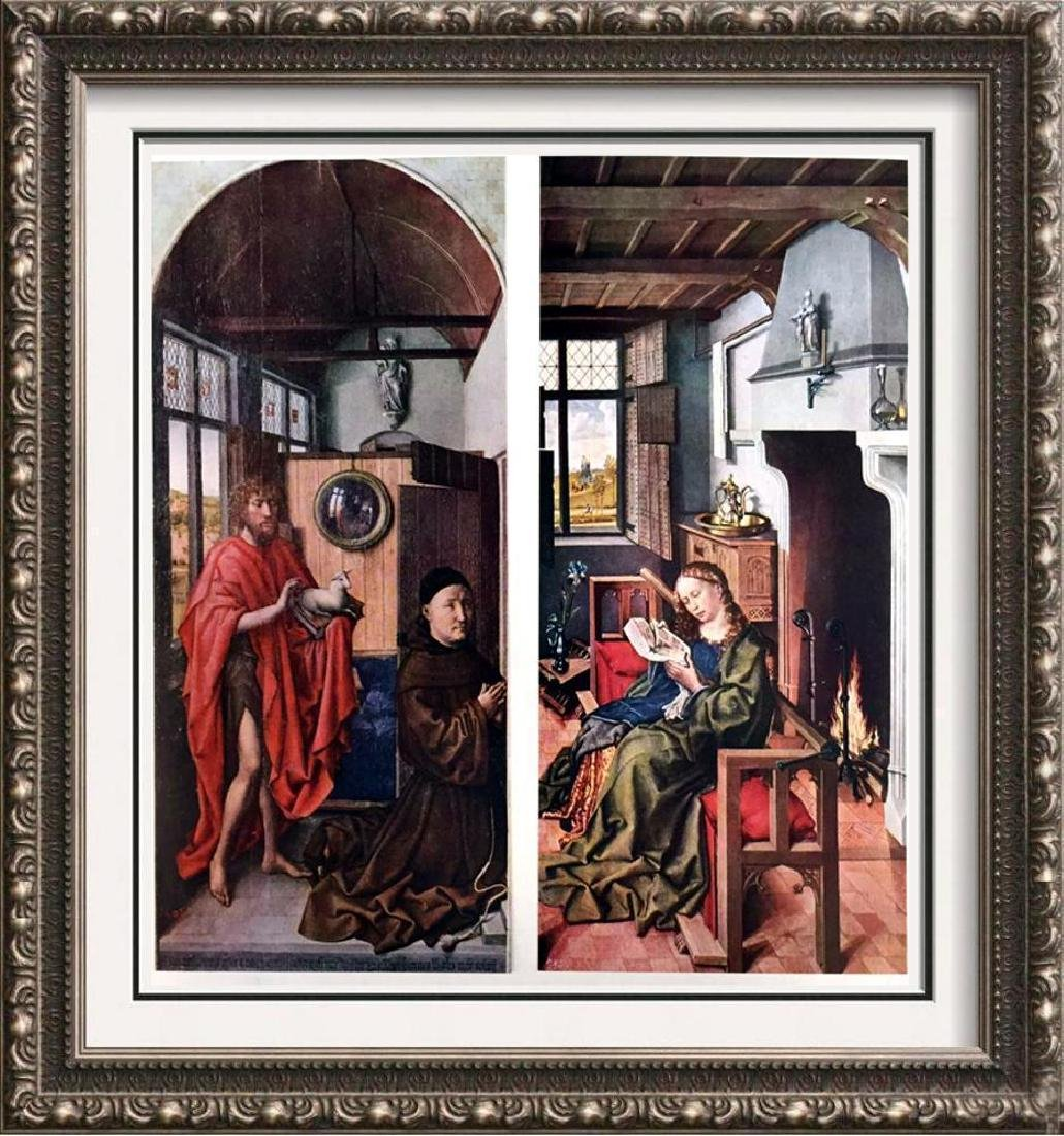 Masterpieces of Flemish Painting Robert Campin: St.
