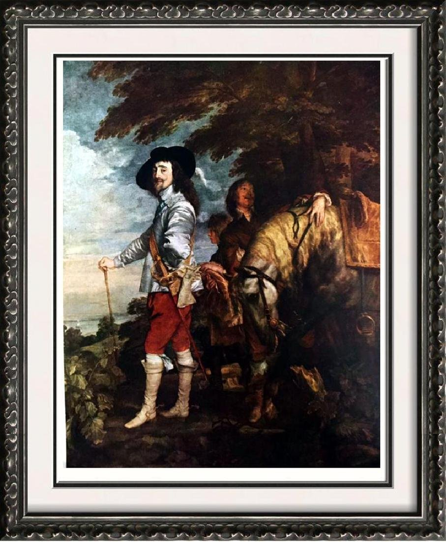 Masterpieces of Flemish Painting Anthony Van Dyck: King