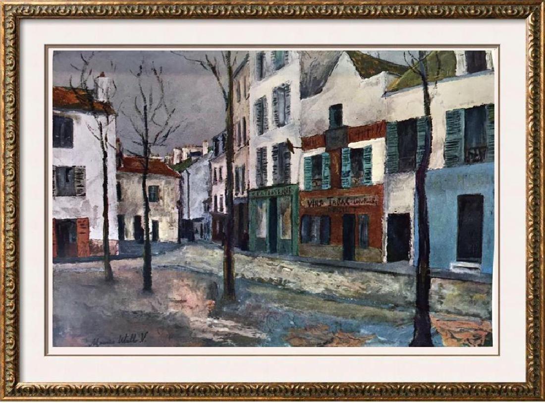 Maurice Utrillo Place Du Tertre c.1911-12 Fine Art