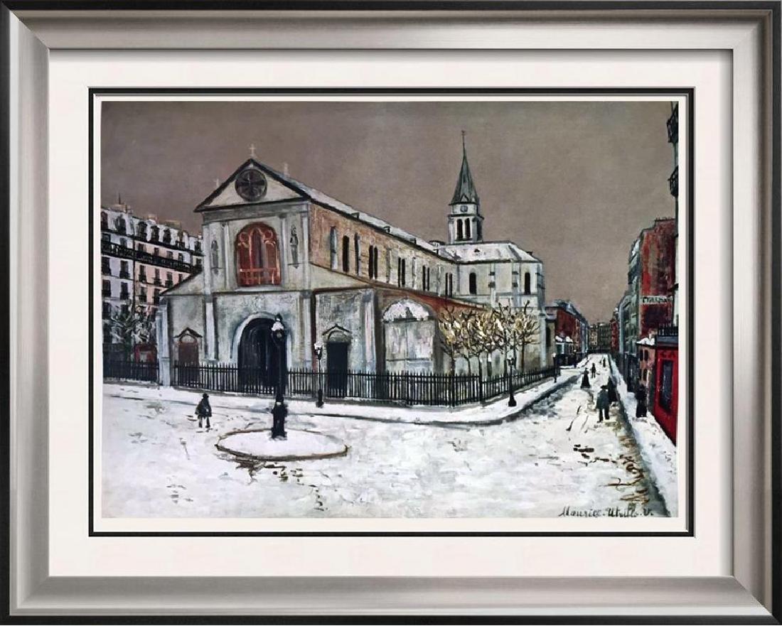 Maurice Utrillo Notre-Dame De Clignancourt c.1912 Fine