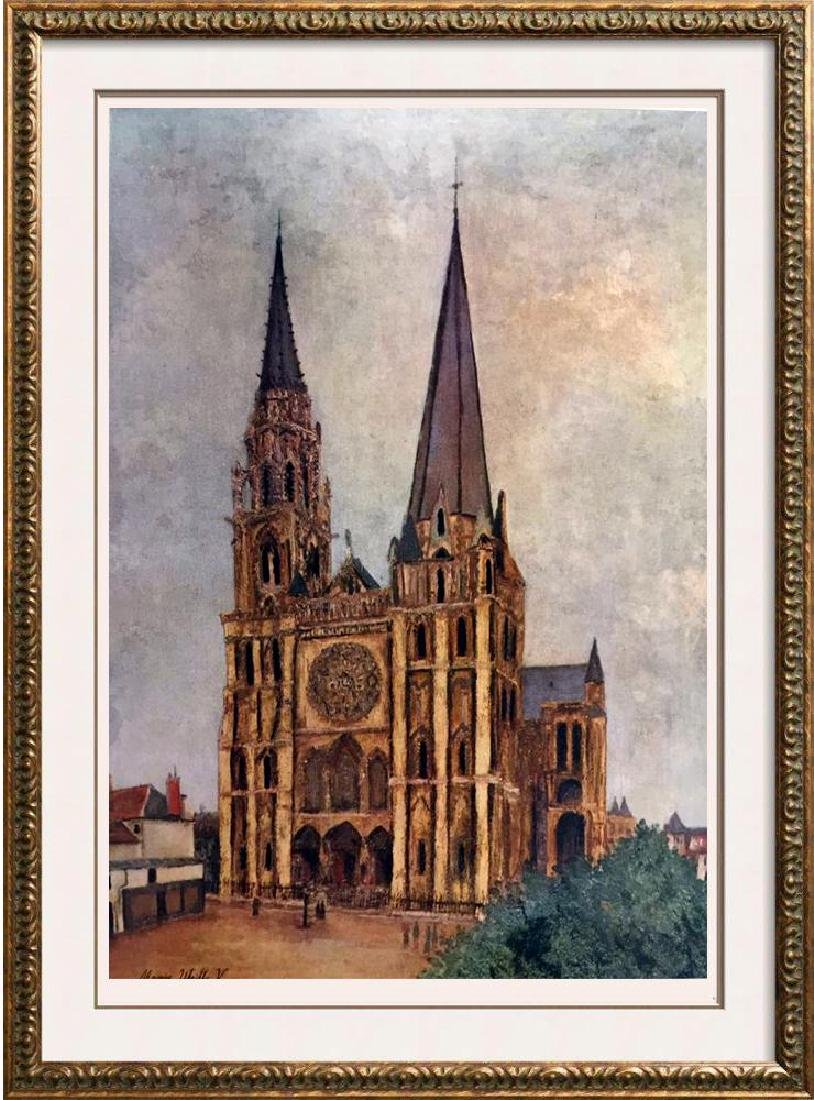 Maurice Utrillo Chartres Cathedral c.1913 Fine Art
