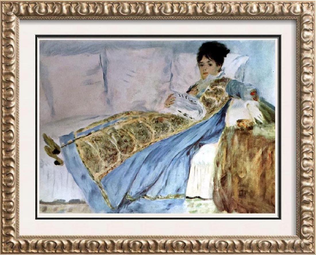 Renoir, Pierre Auguste Peintures Madame Claude Monet