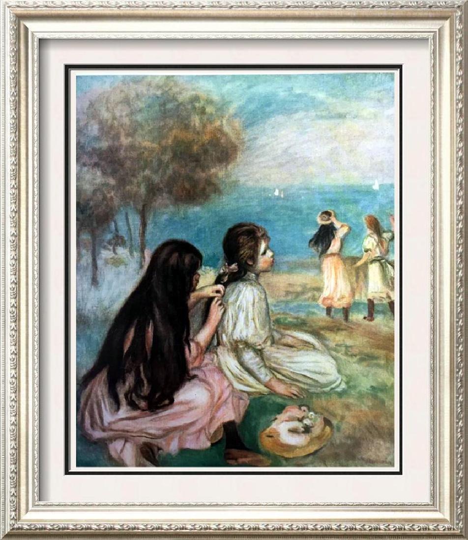 Renoir, Pierre Auguste Peintures Enfants Au Bord De