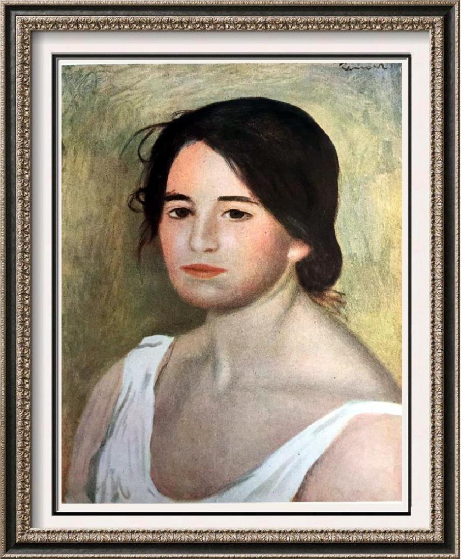 Renoir, Pierre Auguste Peintures Potrait de Femme