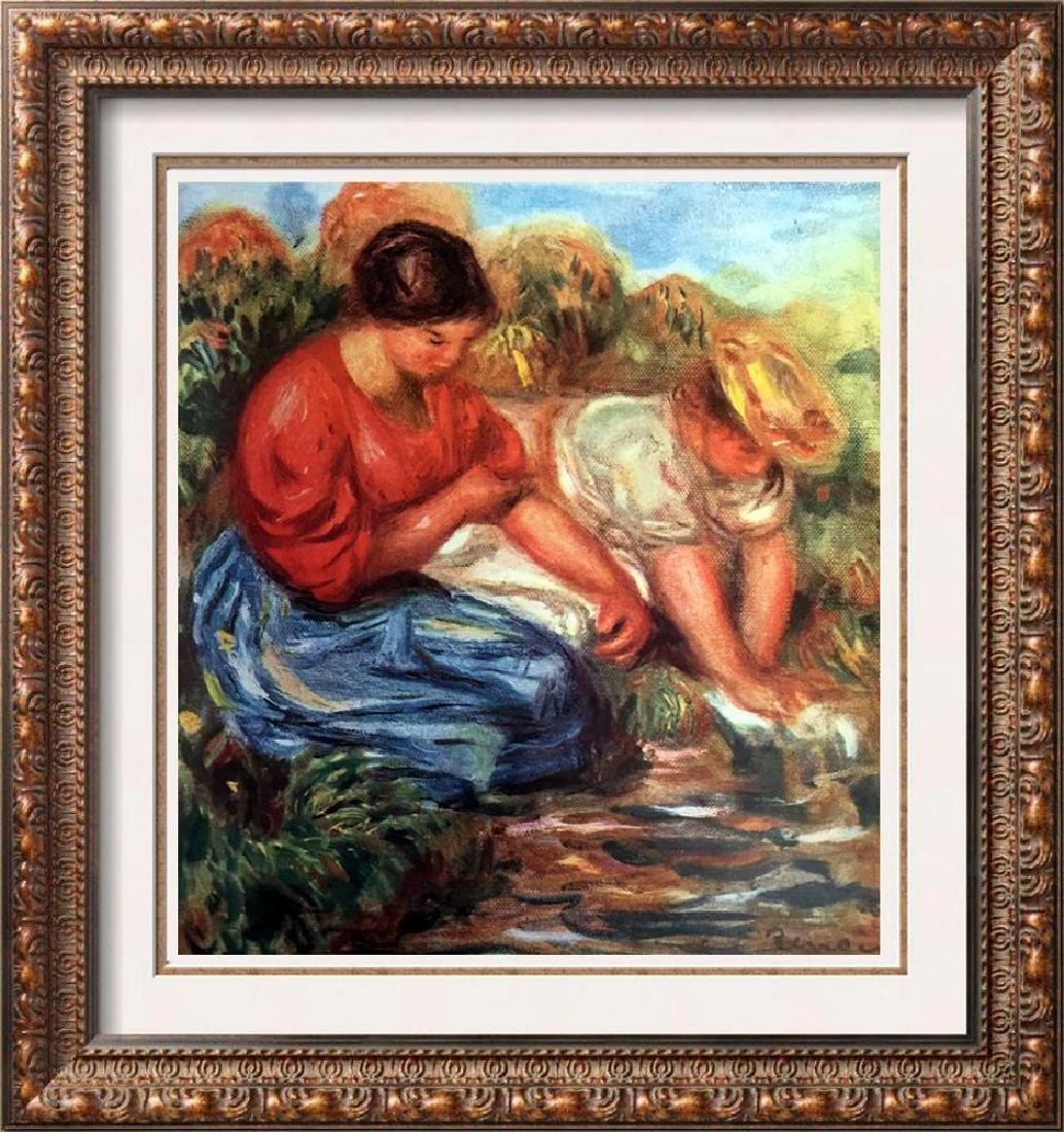 Renoir, Pierre Auguste Peintures Les Laveuses c.1913