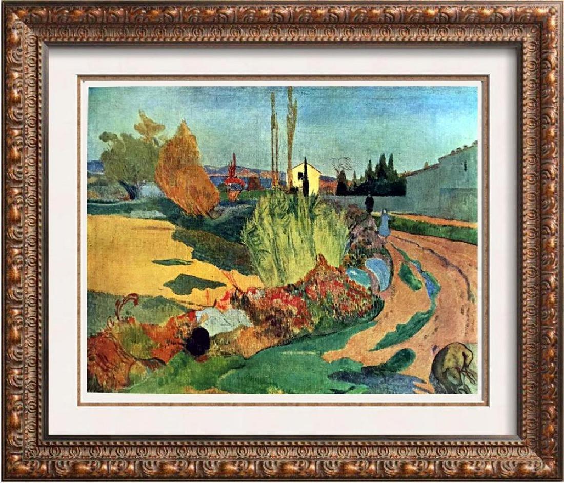 Gauguin, Paul Paysage De Bretagne c.1889 Fine Art Print