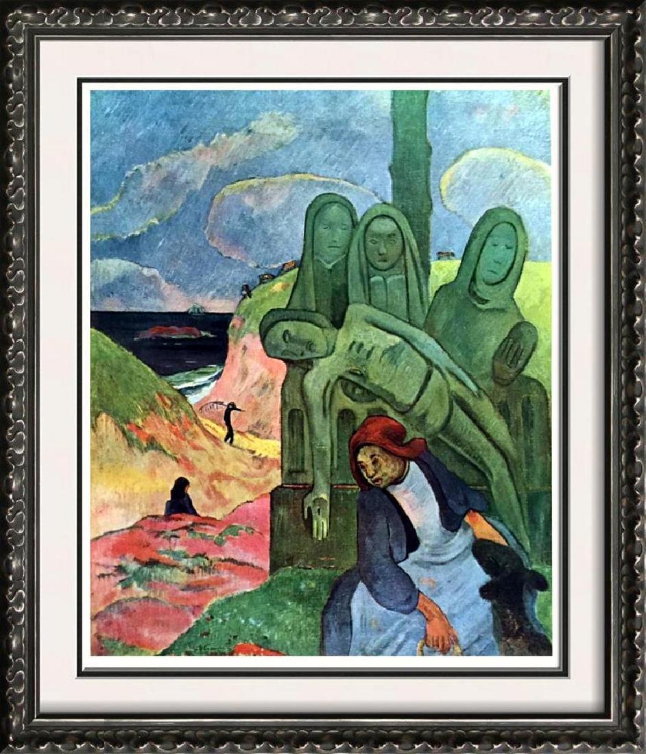 Gauguin, Paul Le Calvaire Breton c.1890 Fine Art Print