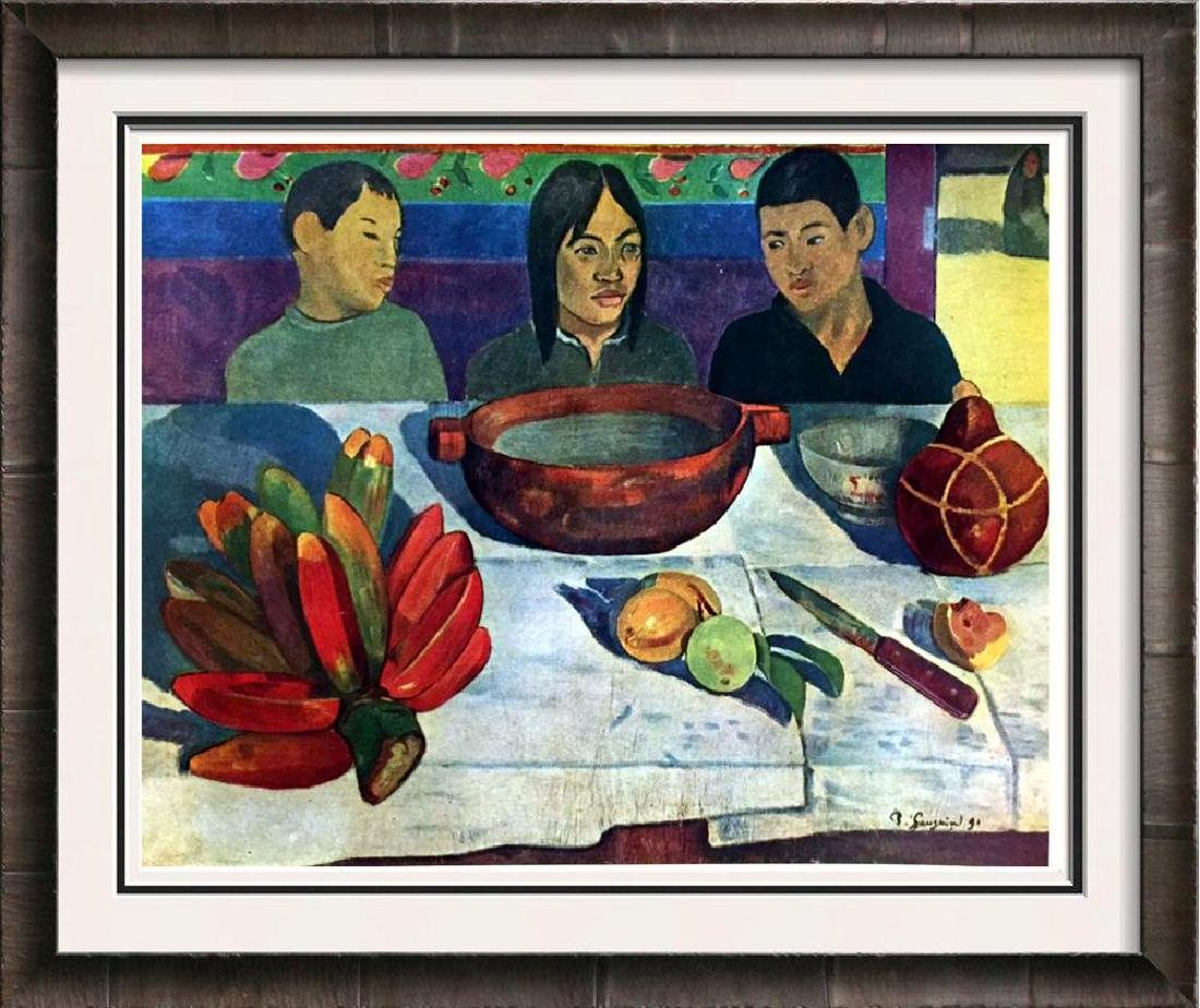 Gauguin, Paul Le Repas c.1891 Fine Art Print Signed in