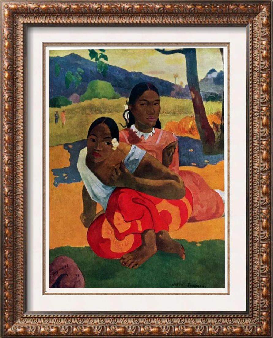 Gauguin, Paul Nafea Faa Ipoipo c.1892 Fine Art Print