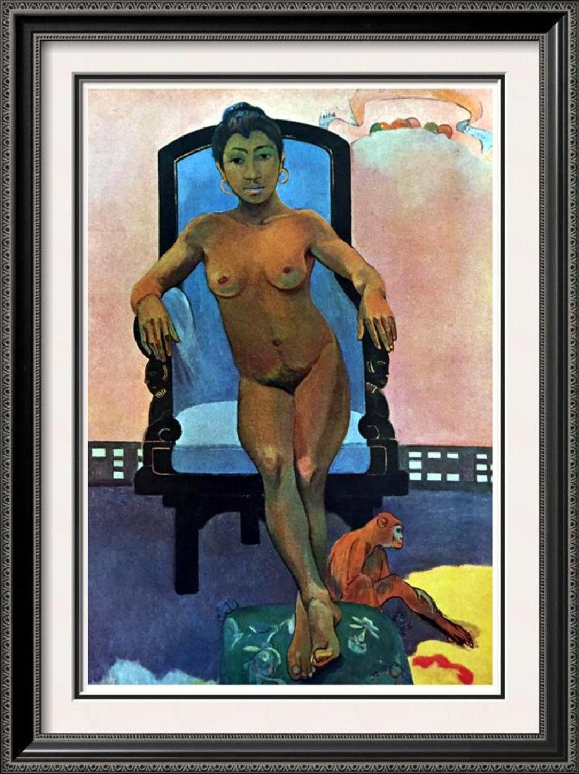 Gauguin, Paul Annah La Javanaise c.1893 Fine Art Print