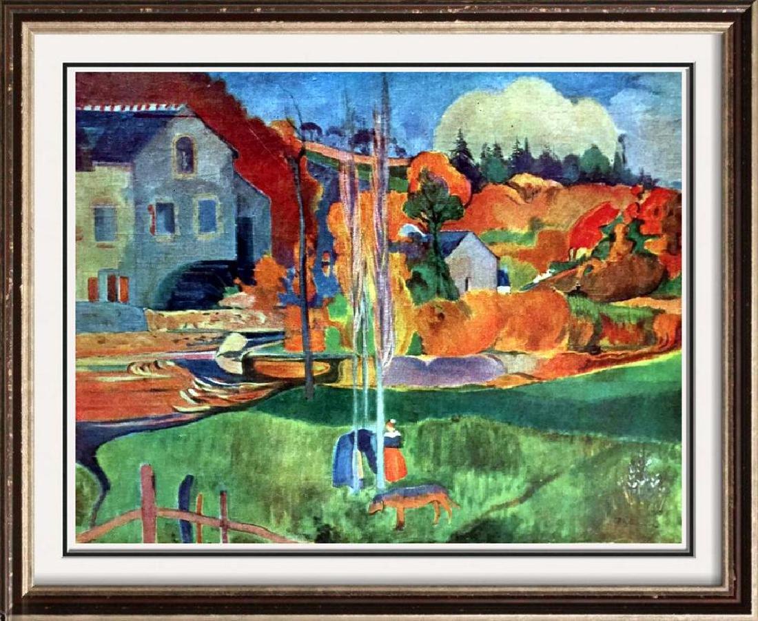 Gauguin, Paul Moulin En Bretagne c.1894 Fine Art Print