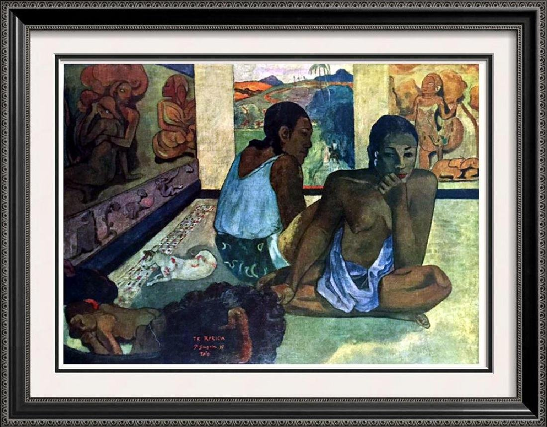 Gauguin, Paul Le Repos c.1897 Fine Art Print Signed in