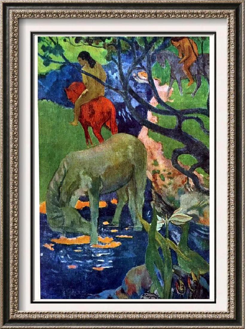 Gauguin, Paul Le Cheval Blanc c.1898 Fine Art Print